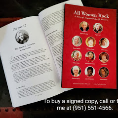 """All Women Rock,"" coauthored by Virginia and several other Southern California authors."