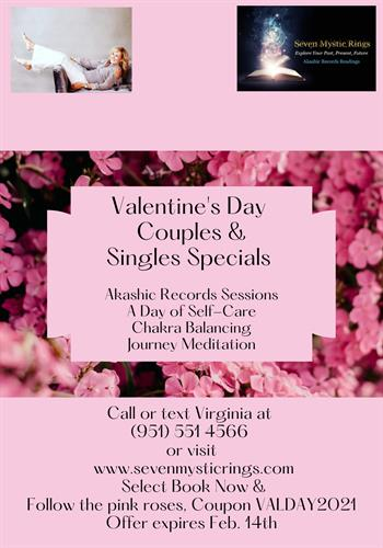 Valentine's Day Special for Couples & Singles