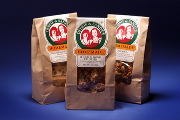 Package design for granola line
