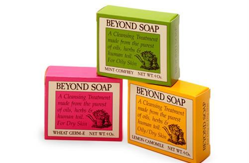 Design of award-winning soap packaging