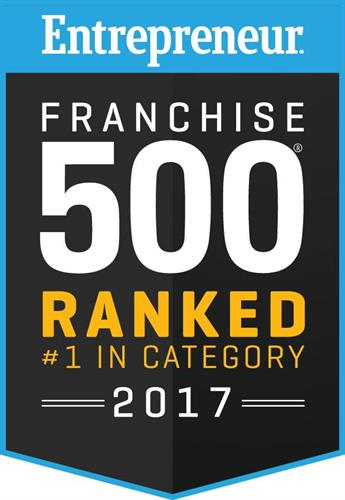 Voted #1 by Entrepreneur Magazine in 2017
