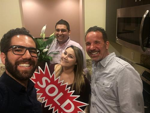 Happy First Time Home Buyers! What a blast