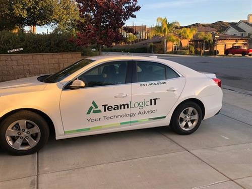 Look around town for our TeamLogicIT cars