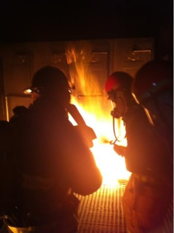 Training Military Firefighters