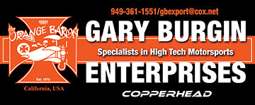 Bumper Sticker for Gary Burgin Enterprises
