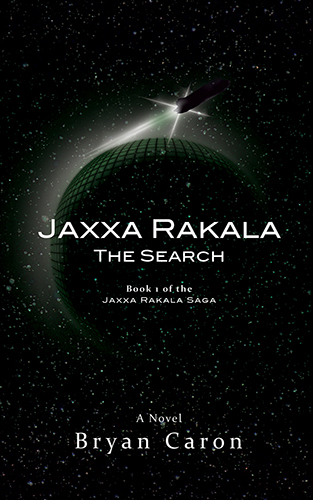 "Book Cover for ""Jaxxa Rakala: The Search"" by Bryan Caron"