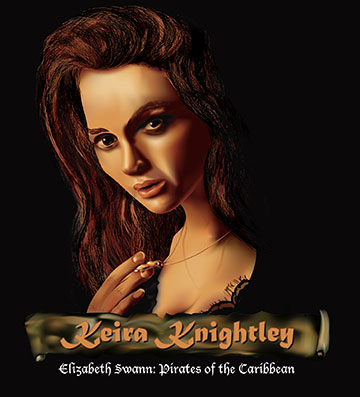 Illustration of Keira Knightley