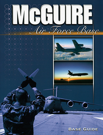 Cover for McGuire Air Force Base (©MARCOA Publishing)