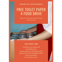 Toilet Paper 4 Food Drive