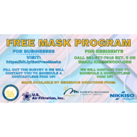 The Chamber's Free Mask Program Expands To Include Residents