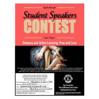Murrieta Lions Club Seek Students for the Student Speakers Contest