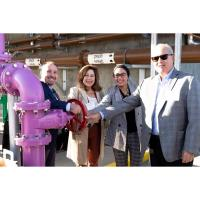 Local Water Districts Celebrate Construction Completion...