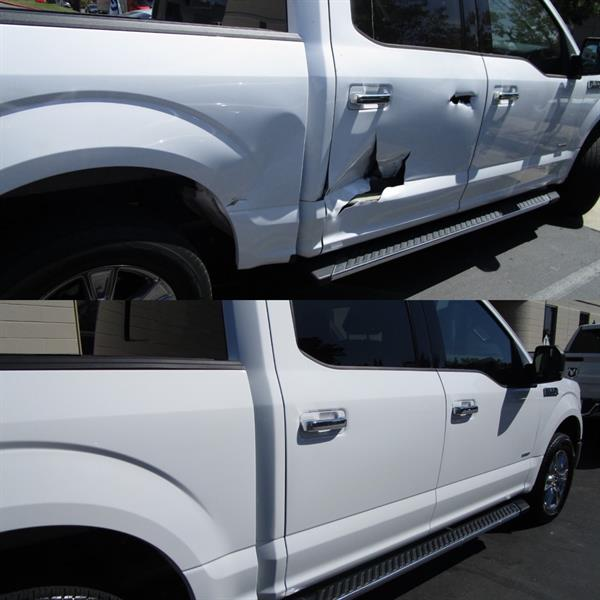 Before & After Ford Aluminum Truck