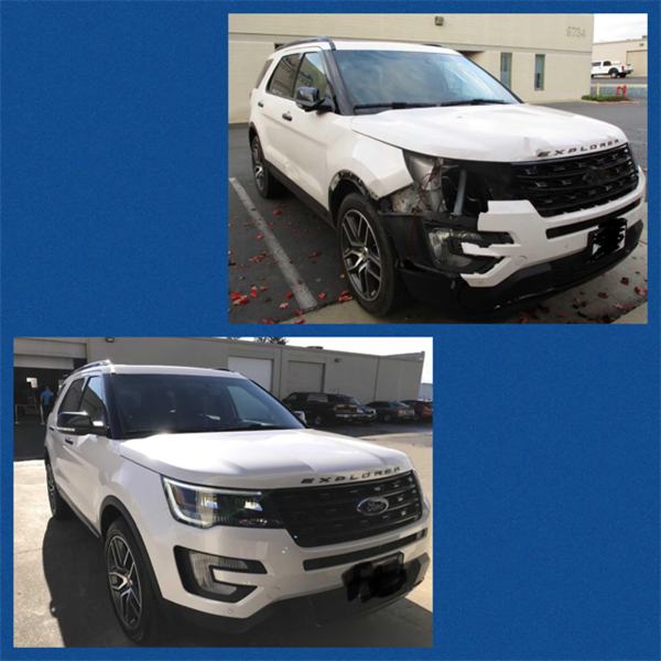 Ford Explorer Before & After