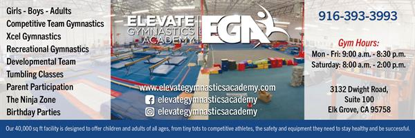 Gymnastics for children and adults of all ages, from tiny tots to competitive athletes.  Come join the fun!