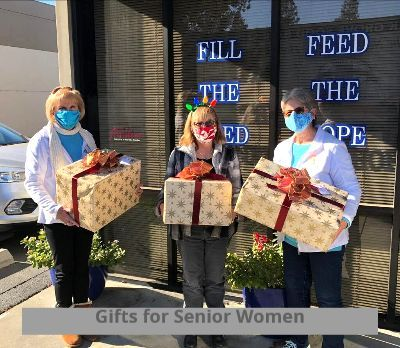 GIfts for Senior Women at Chirstmas through the Elk Grove Food Bank