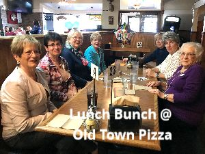 Lunch Bunch - join us next time!