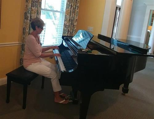 Music by our very own Executive Director, Cheryl Spearman, RN