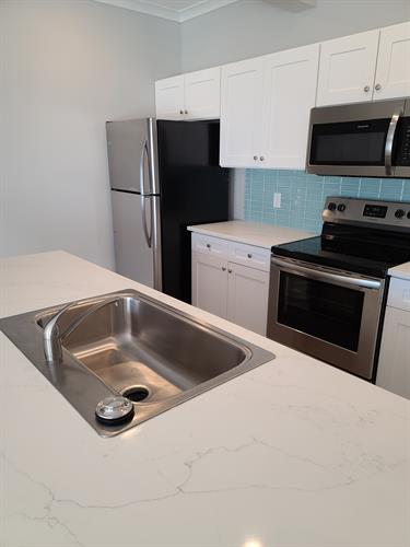 New apartment cleaning