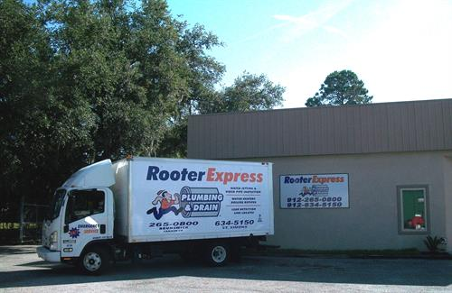 Our truck, office & warehouse