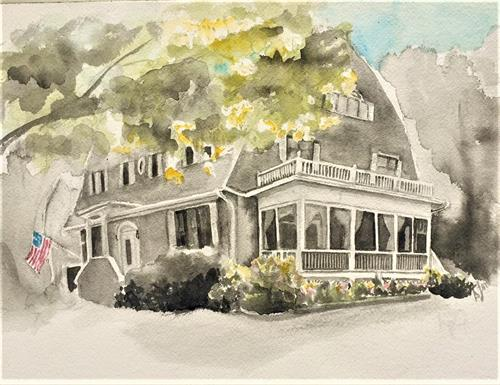 The Elizbeth Rose Inn, Drawn earlier this year