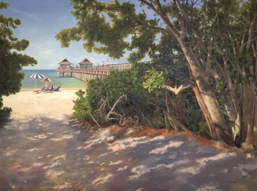 'Path to Paradise' 36x48 Oil on Linen