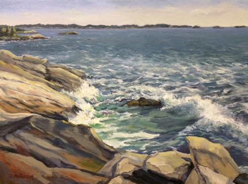 'Incoming Tide' 12x16 Oil