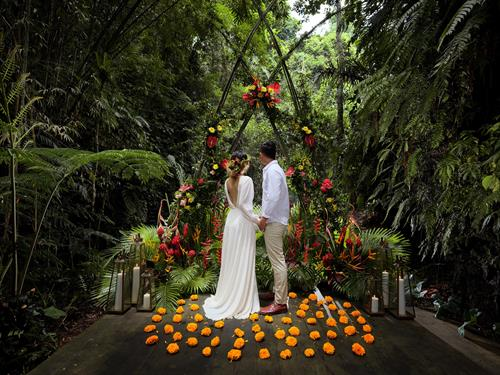 Ubud Bali destination wedding