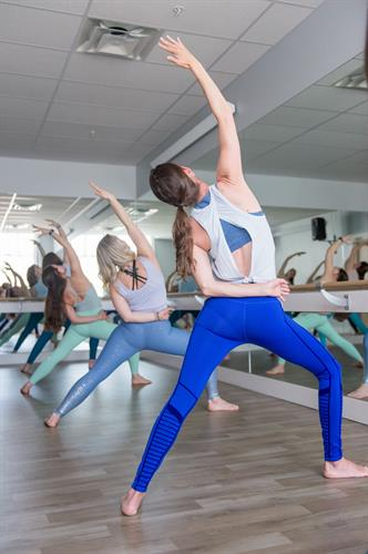 stretch, flow + find your zen in our hot yoga studio.