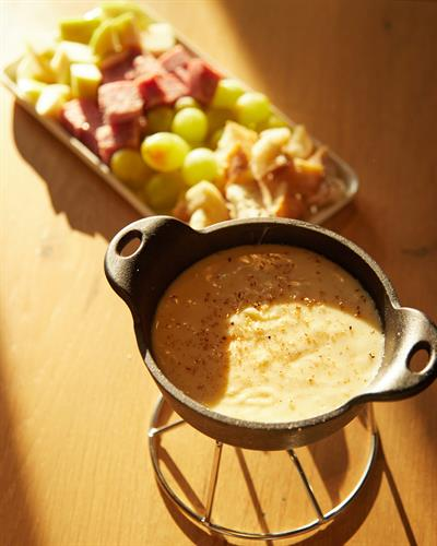 cheese fondue for two