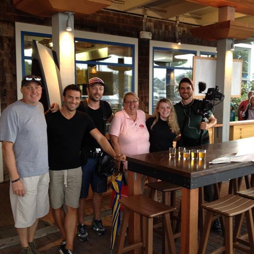 Food Tour Film Crew