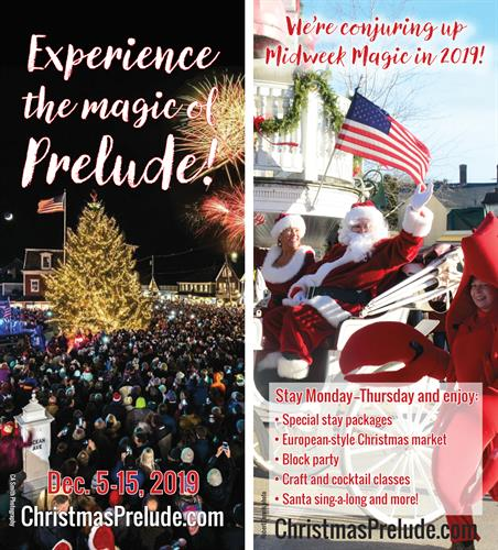 Working with KBA's Prelude Committee, I designed this rack card to promote the Midweek Magic events in 2019.