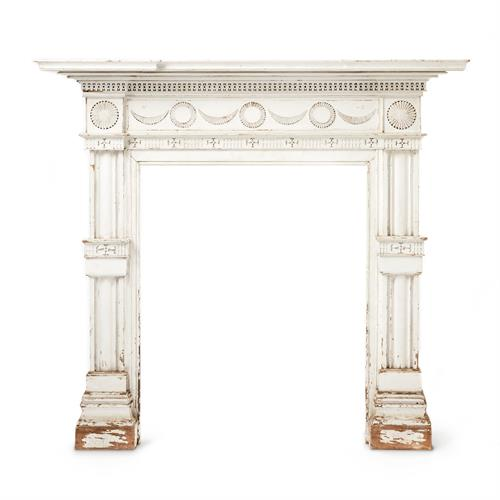 Hundreds of mantels and fireplace accessories.