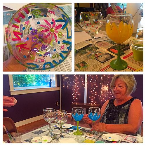 CRAFT NIGHTS: Paint Your Own Wine Glasses