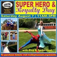 Superhero & Royalty Day at Seashore!