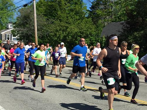 The Kennebunk Beach Classic 5K is a scenic certified coastal run we execute as a fundraiser every year.