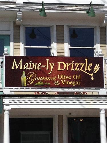Store Sign from center of Dock Square