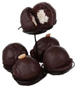 Chocolate Dipped Whoopie Balls