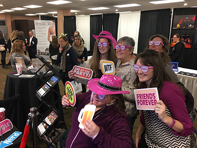 Photo booths at your next event come complete with Props table, and social media capable technology.  Check out Sharper Events & Party Rentals for your next Photo Booth Rental!