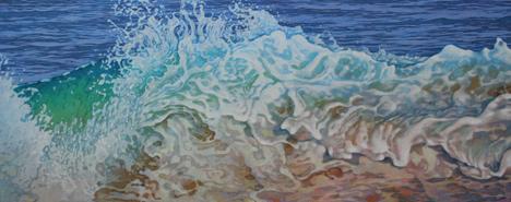 Ocean Inspired Oil Pastel