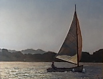original oil paintings, sailboat