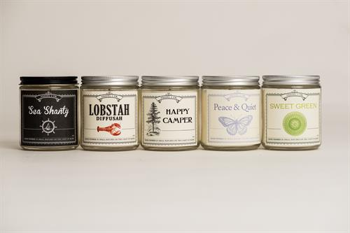 Lovely Scented Candles by Vessel & Co
