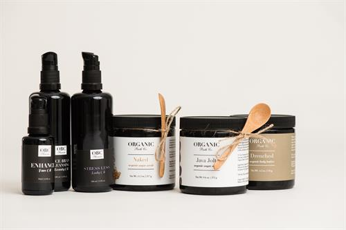 Organic Bath Products...scrubs, body butter, cleansers and much more!