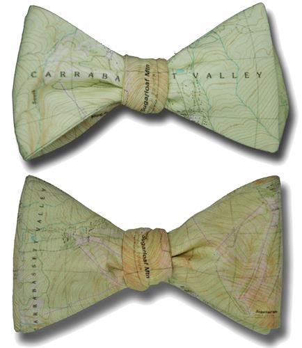 Sugarloaf Mountain Bow Tie-Two Ties in One!