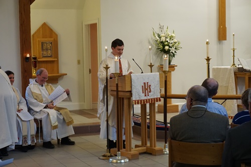 Fr Andrew was formally installed as Rector at St David's on February 26, 2017