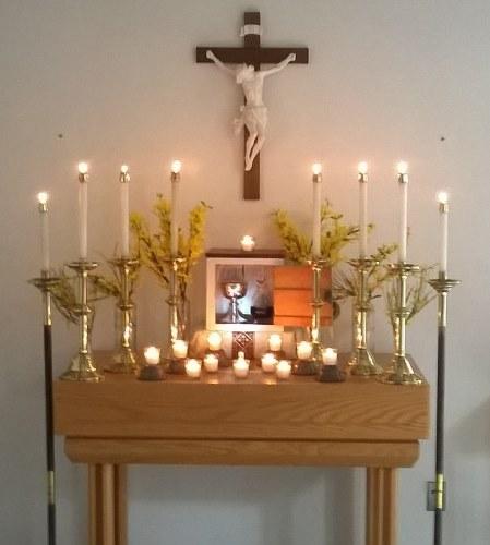 Altar in repose