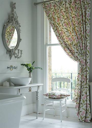 Drapery, Interior Design, Fabric, Clarke and Clarke