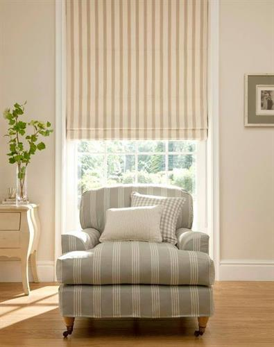Upholstery, Fabric, Roman Shade, Curtains, Clarke and Clarke