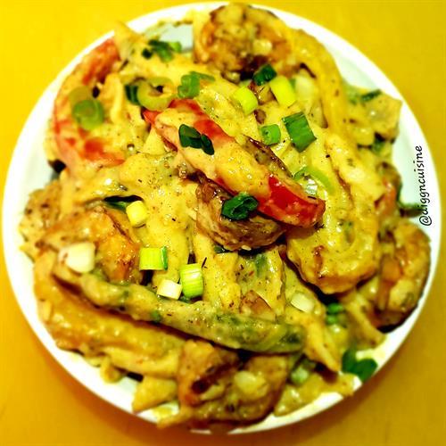 Shrimp Rasta Pasta