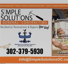 Simple Solutions General Contracting